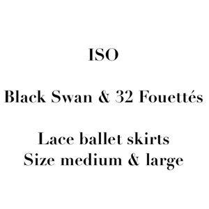 ISO 32 Fouettés & Black Swan Ballet Skirts